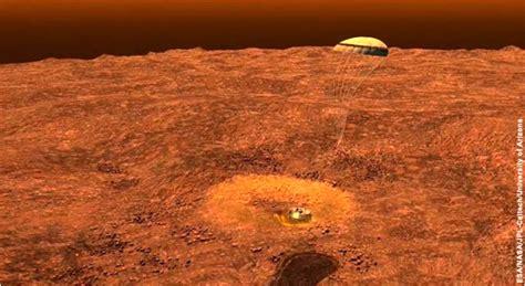 what does saturn look like on the surface when huygens met titan iip digital