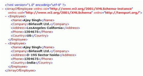 xml quick guide image gallery sle json