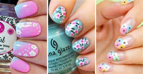 imagenes de uñas decoradas tumblr 30 dise 241 os de u 241 as decoradas con flores decoraci 243 n de
