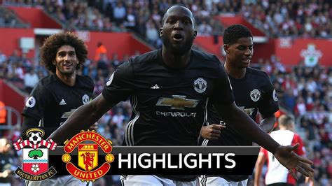 epl highlights video download southton 0 1 manchester united sep