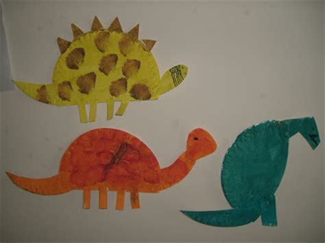 Paper Plate Dinosaur Craft - our world my world craft paper plate dinosaurs