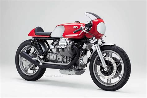 Motorrad Magazin Fuel by Kaffeemaschine Guzzi Cafe Racer 6 Rocketgarage Cafe