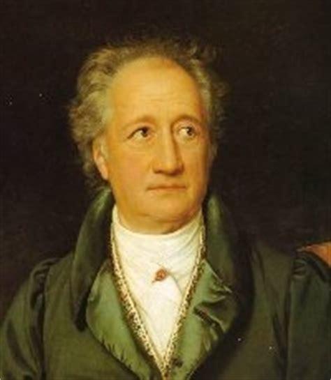 Tabellarischer Lebenslauf Johann Wolfgang Goethe Goethe Weimarer Klassik