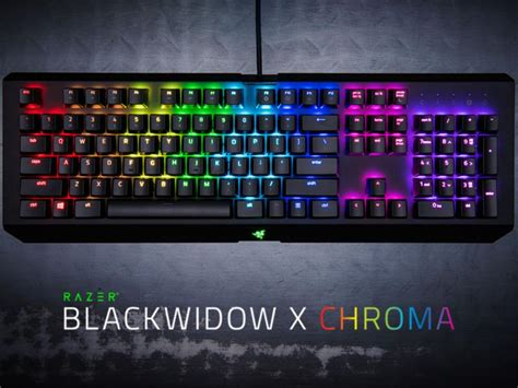 Murah Razer Blackwidow X Chroma Rgb 1 recensione razer blackwidow x chroma pianeta
