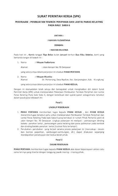 Contoh Surat Perintah Kerja Atau Kop Surat by Pengertian Surat Disposisi Tugas Edaran Memo Ets2gi Alphy