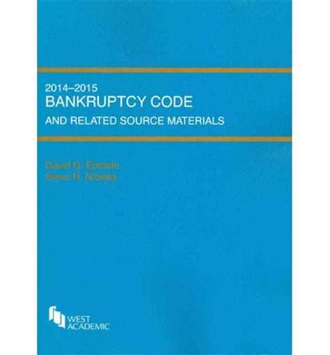 bankruptcy code section 101 bankruptcy code and related source materials david g