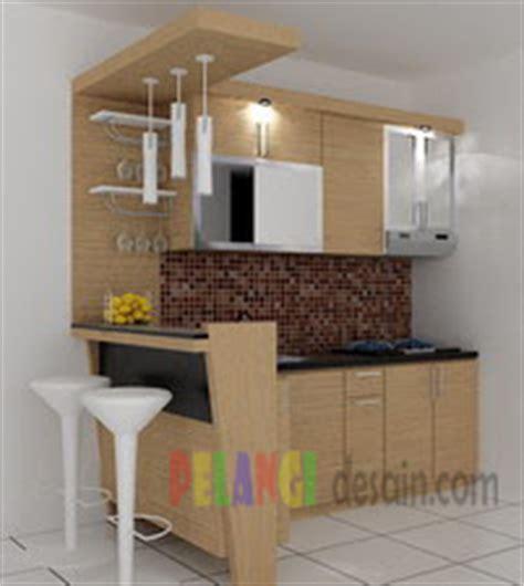 desain meja mini bar kitchenset pelangi desain interior kitchen set minimalis