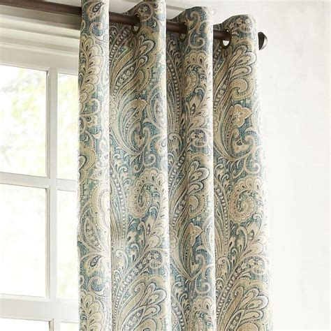 pier one paisley curtains 17 best ideas about teal curtains on pinterest teal