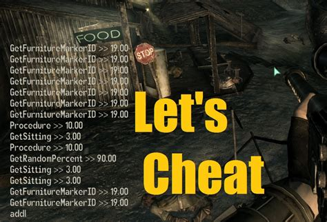 fallout console commands fallout 4 console commands for pc fallout 4 cheats mods