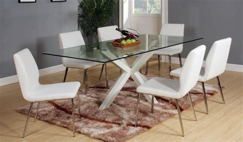 white gloss dining table set high gloss white finish dining table and 6 chairs homegenies