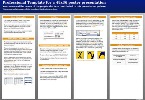 scientific research poster templates creative template