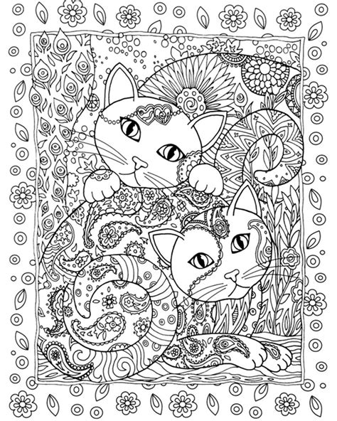 anti stress colouring book for adults antistress anxiety cats colouring book for adults