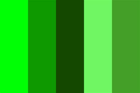 popular shades of green green shades color palette