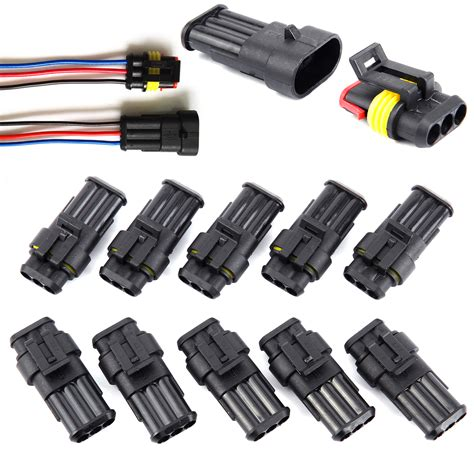 10 set car superseal waterproof electrical terminal wire