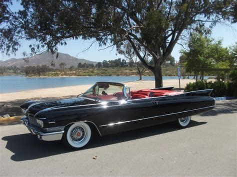 1960 cadillacs for sale fin finesse 1960 cadillac series 62 convertible bring a