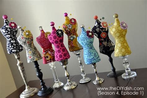 pattern making mannequin mini dress form 13 cute diy pin cushions to make diy
