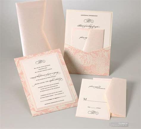 blush pink wedding invitations blush pink wedding invitation custom colors wedding