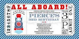 train ticket printable birthday invitation dimple prints