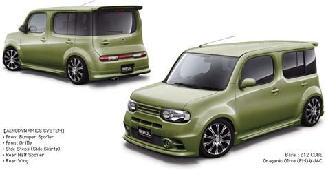 nissan cube bodykit impul bodykit nissan forum nissan forums