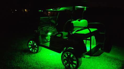 Golf Cart Stage 2 Kit Fusion 21 Color LED Lighting Kit