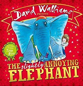 libro the slightly annoying elephant the slightly annoying elephant amazon es david walliams tony ross libros en idiomas extranjeros