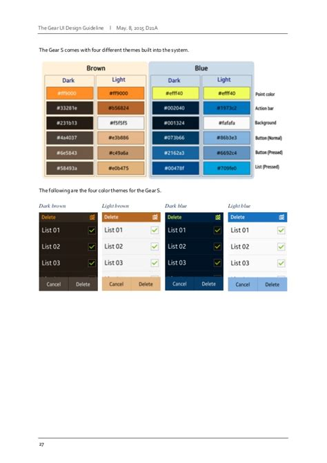 ui layout guidelines samsung gear ui design guidelines