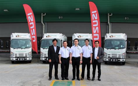 city link express city link express continues to choose isuzu trucks for its