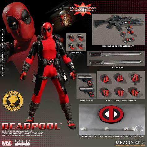 Exclusive Custom Deadpool 2 Terlaris one 12 collective marvel universe deadpool figure