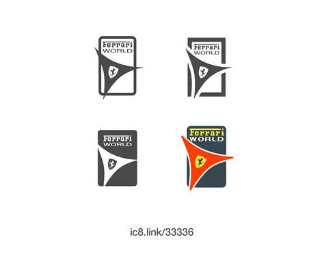 ferrari logo black and white vector 100 ferrari emblem black and white official