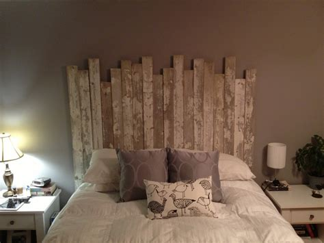 Handmade Headboard Ideas - diy our headboard cabin in the woods