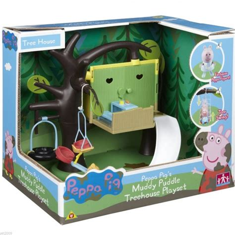peppa pig tree house peppa pig peppas treehouse playset new sealed gift to