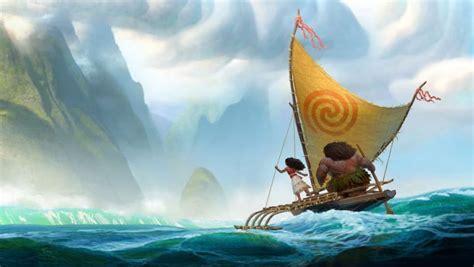 moana boat drawing animating the friendly ocean in disney s moana