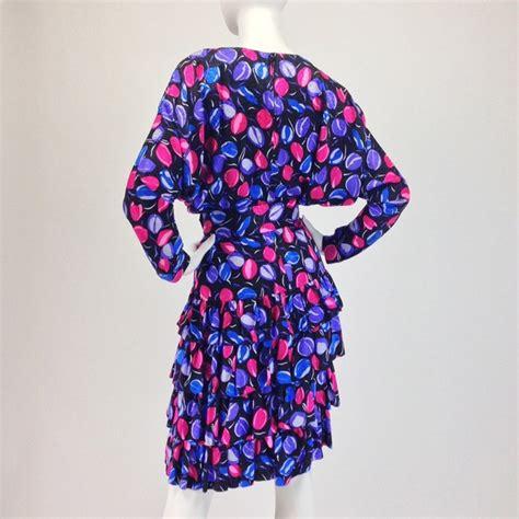 80s floral vintage vintage 80s floral print dress