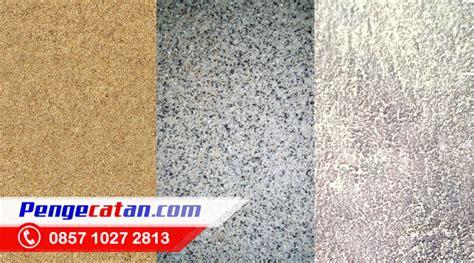 jasa cat tekstur dinding pasir batu alam arturo kayu
