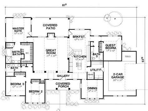 search house plans single story 5 bedroom house plans lovely 4 bedroom single