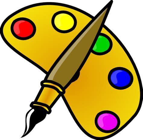 Artists Clipart Artist Pallet Clip At Clker Vector Clip