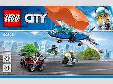 LEGO Parachute Arrest Instructions 60208, City Indiana Jones