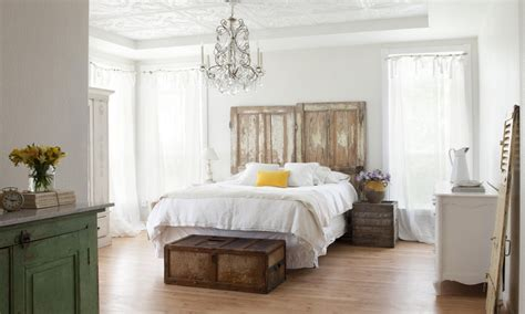 modern cottage style decorating bedroom shabby chic