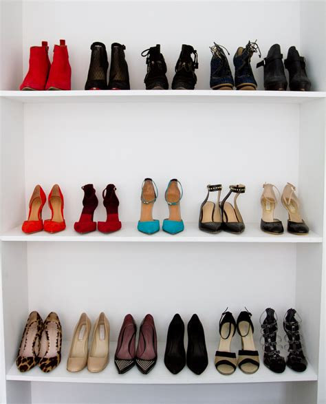 organize shoes how to organize your closet stylecaster