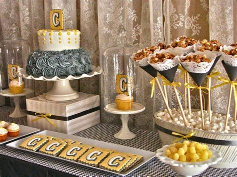 Grey And Yellow Baby Shower by Oh Sugar Events Grey And Yellow Shower