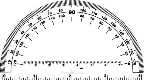 printable protractor free cut out printable protractor search results calendar 2015