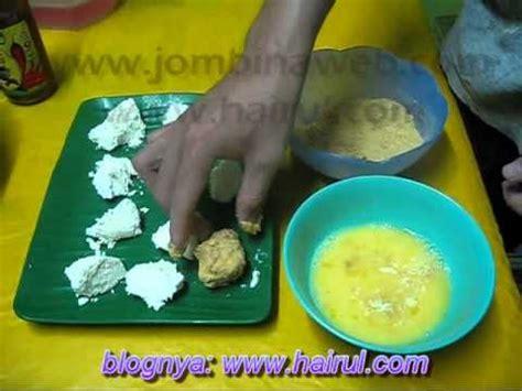 cara membuat roti aiskrim goreng cara buat aiskrim goreng resipi hari raya youtube