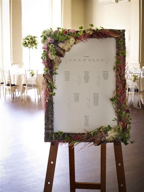 wedding table name ideas flowers 21 best images about floral wedding table plans on