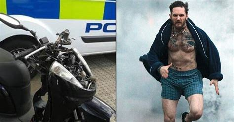 Tom Hardy Criminal Record Tom Hardy Chases Tackles And Performs Citizen S Arrest On