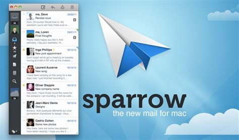 best email client mac sparrow mail free email client for mac os and the best