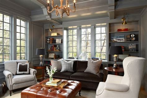 what color furniture with gray walls interior design inspiration photos by susan gilmore photography