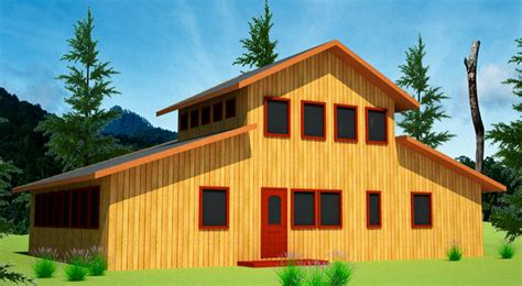 barn style house straw bale house plans