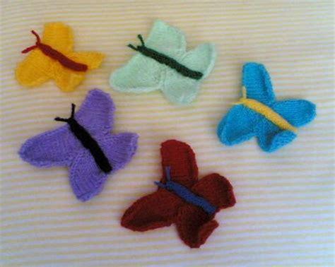 knitting pattern butterfly motif knitting galore knitted butterfly motif tutorial
