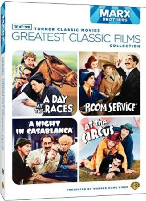 Turner Classic Movies Gift Cards - tcm greatest classic films collection the marx brothers by turner classic movie