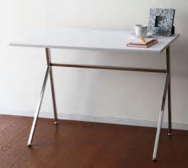 simple white desk chaoscollection rakuten global market simple modern frame desk white work desk fashion shin
